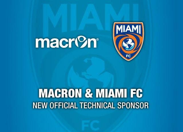 c53a3511eddd9 Macron será a fornecedora de material esportivo para o Miami FC ...