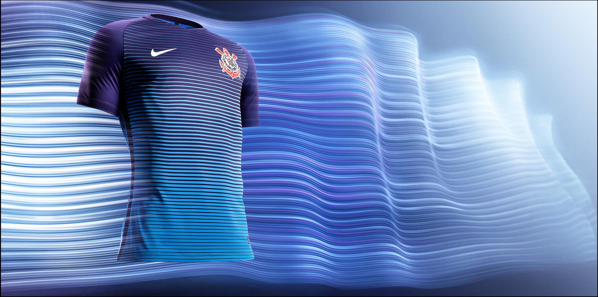 Terceiro uniforme azul do Corinthians é anunciado pela Nike 72998f8d2880c