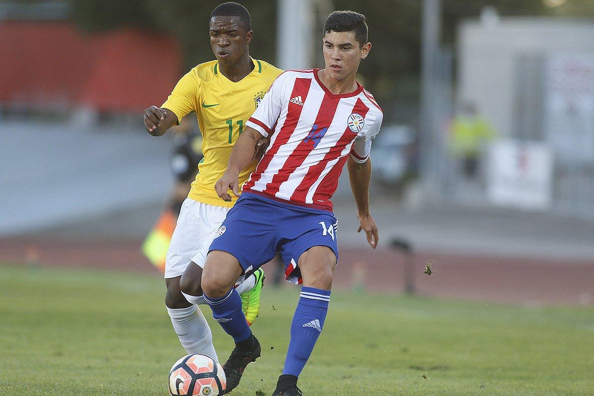 dabadfa86a Seleção brasileira empata com o Paraguai e garante classificação no sub-17