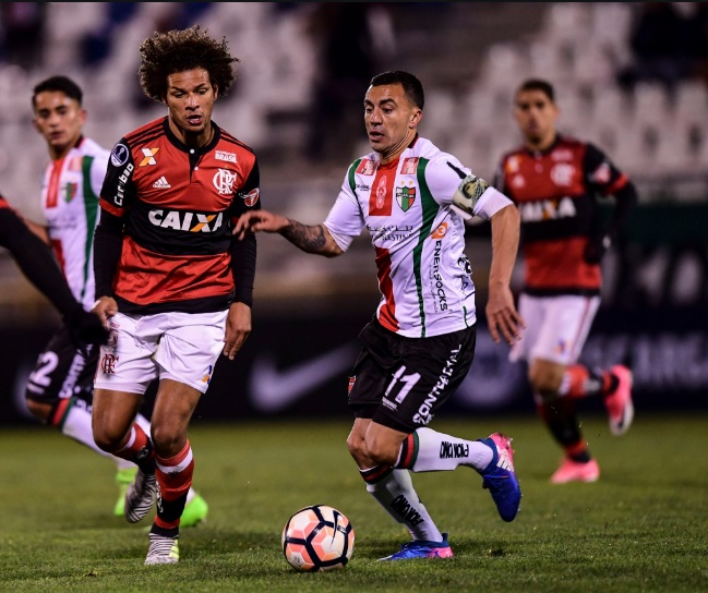 "Após goleada do Flamengo, imprensa chilena ""elimina"" Palestino da Sul-Americana"