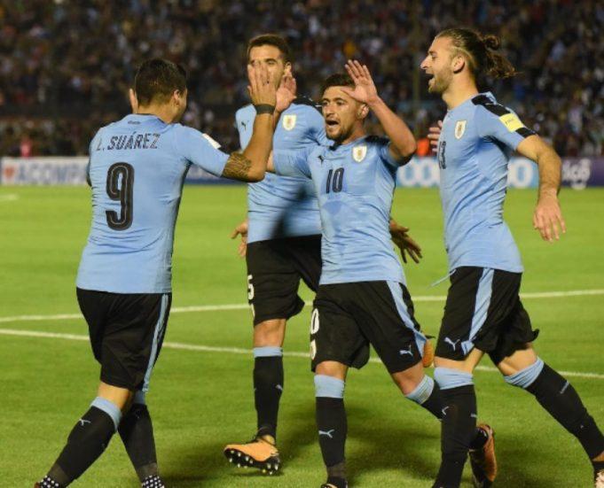 Arrascaeta Uruguai Futebol Latino Lance 13-06