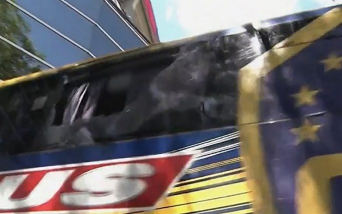 Ônibus do Boca Juniors Futebol Latino Lance 05-12