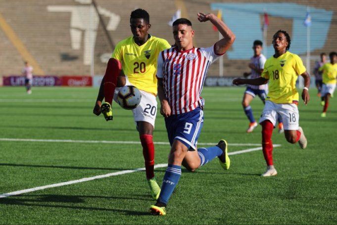 Paraguai Equador Sul-Americano Sub-17 Futebol Latino Lance 05-04