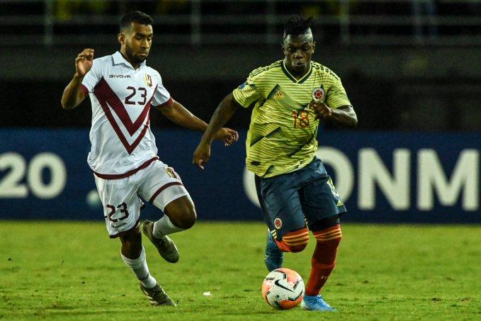 Colombia Venezuela Pre-Olimpico Futebol Latino 27-01