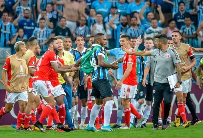 Gremio Internacional Libertadores Futebol Latino Lance 23-05