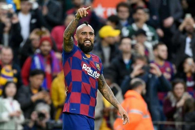 Arturo Vidal Barcelona Futebol Latino Lance 12-08