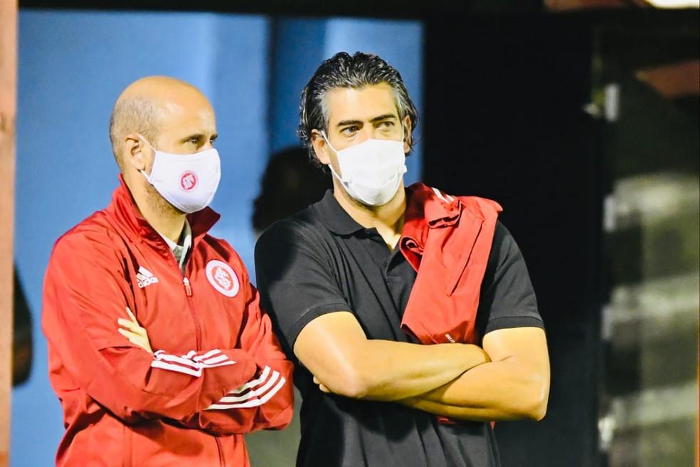 Paulo Bracks e Miguel Ángel Ramírez