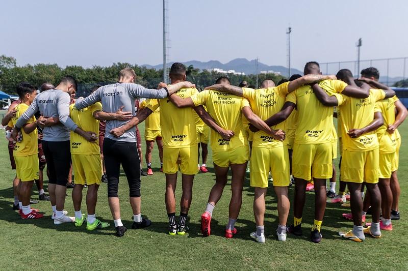 A reta final de preparação do Barcelona para embate com o Flamengo
