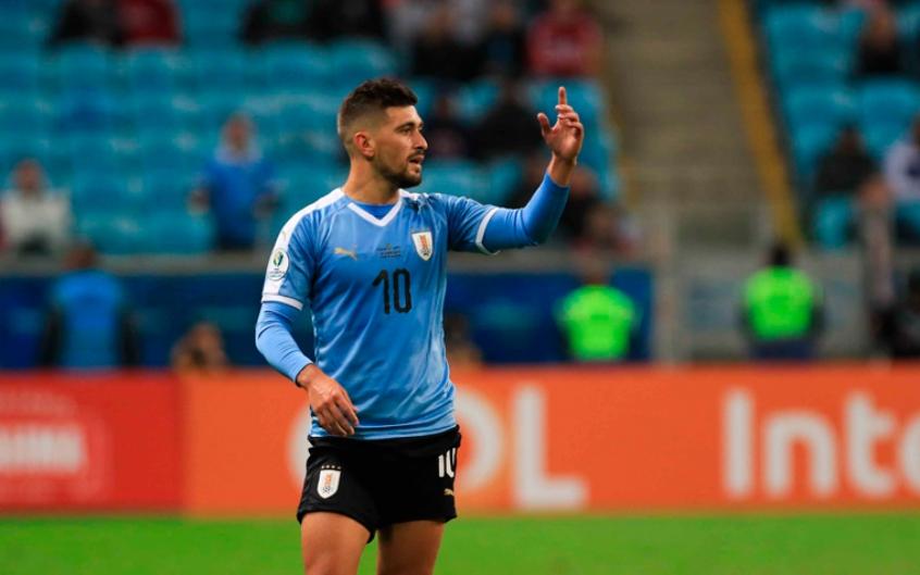 arrascaeta-pode-ser-novidade-no-time-titular-do-uruguai-contra-o-chile-Futebol-Latino-23-06
