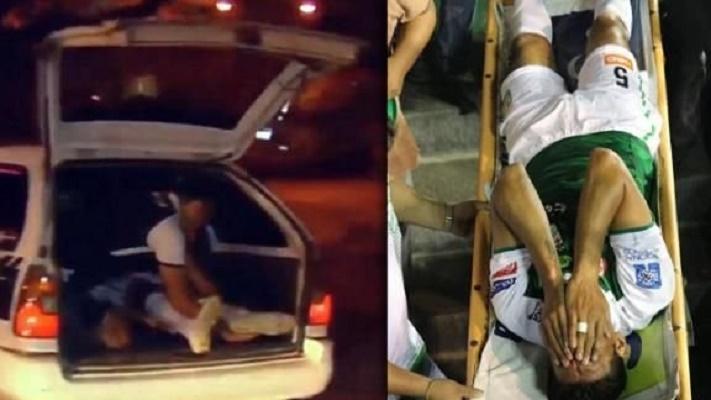 jogador-e-levado-para-o-hospital-no-porta-malas-de-um-taxi-na-bolivia-Futebol-Latino-23-09